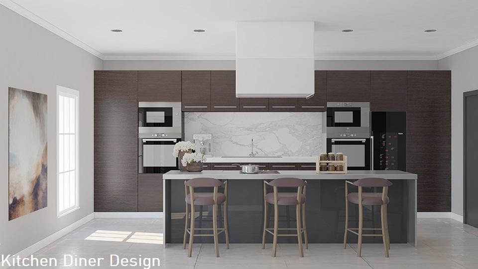 Interior design Kitchen Diner