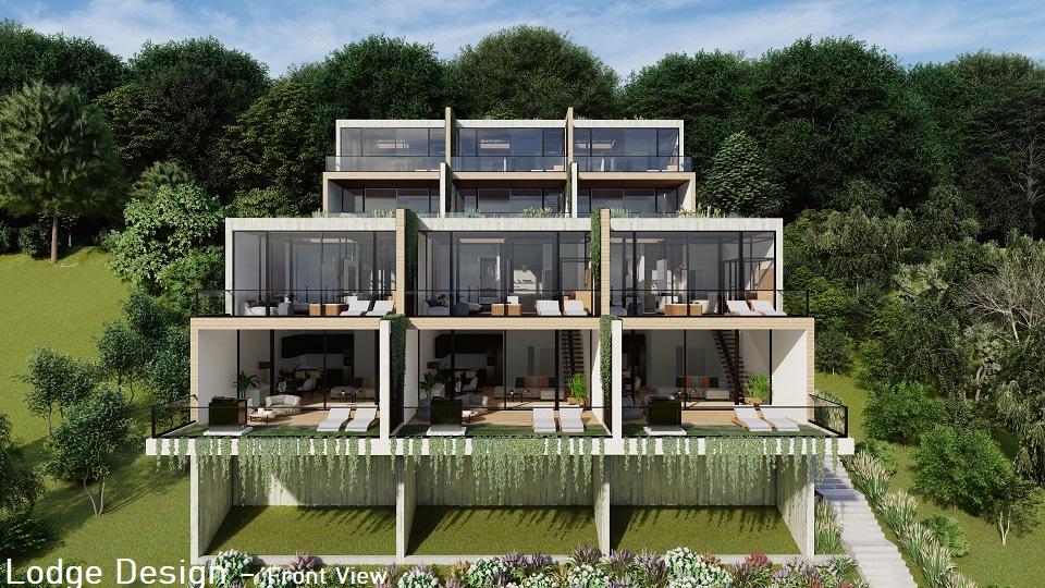 Lodge design front