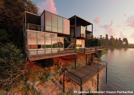 Proposed container house